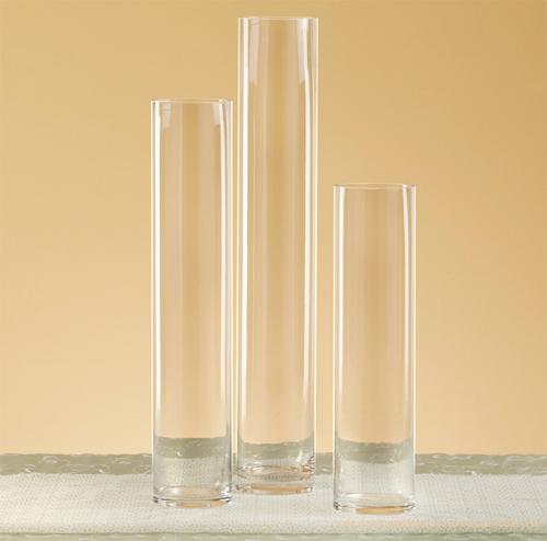 Cylinder Vase Set